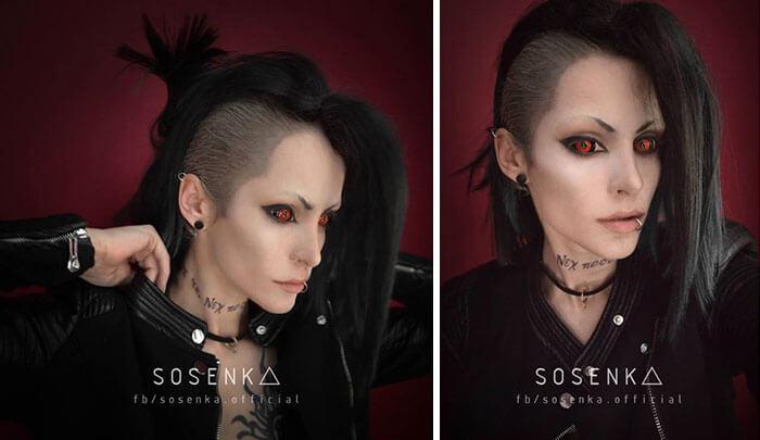 cosplay sfx makeup sosenka fy 6
