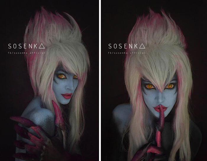 cosplay sfx makeup sosenka fy 7