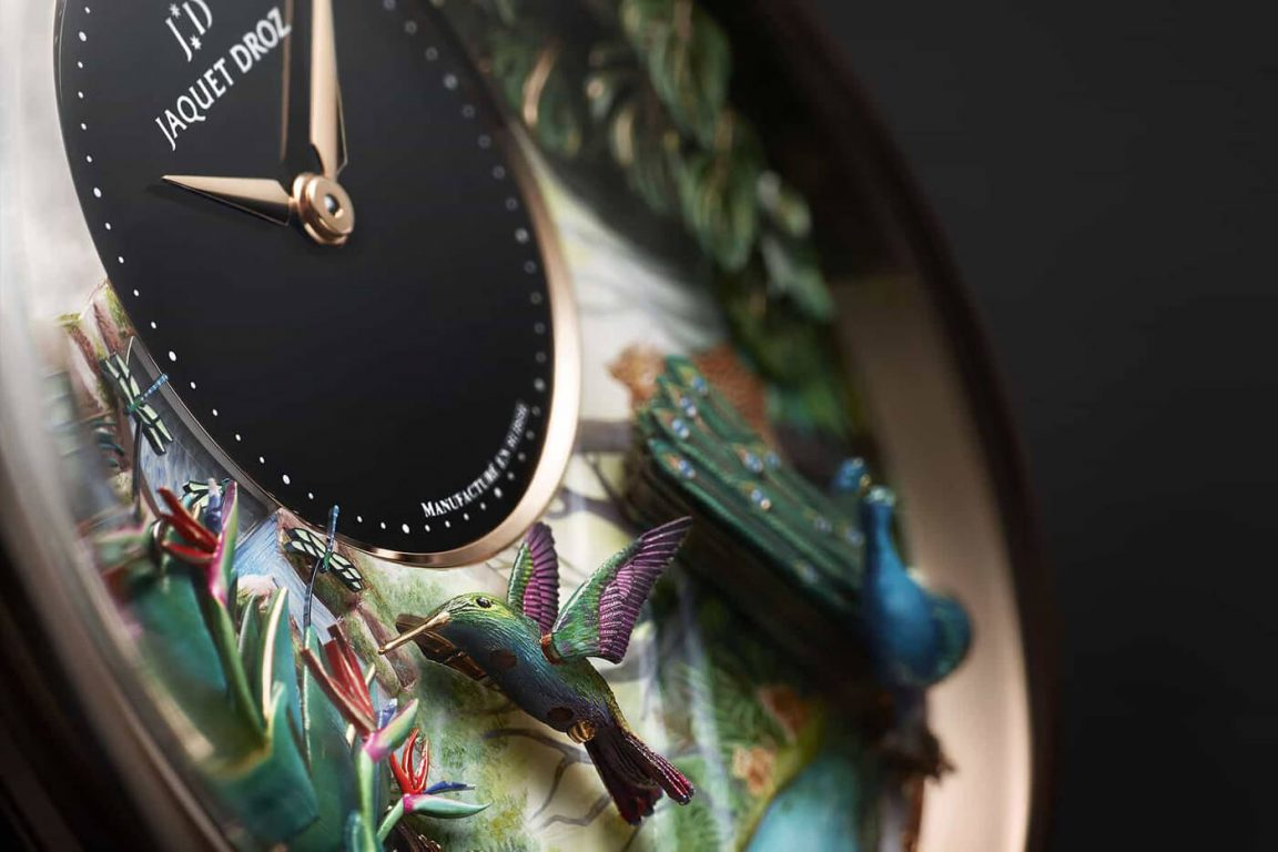 limited edition luxury jaquet droz fy 1