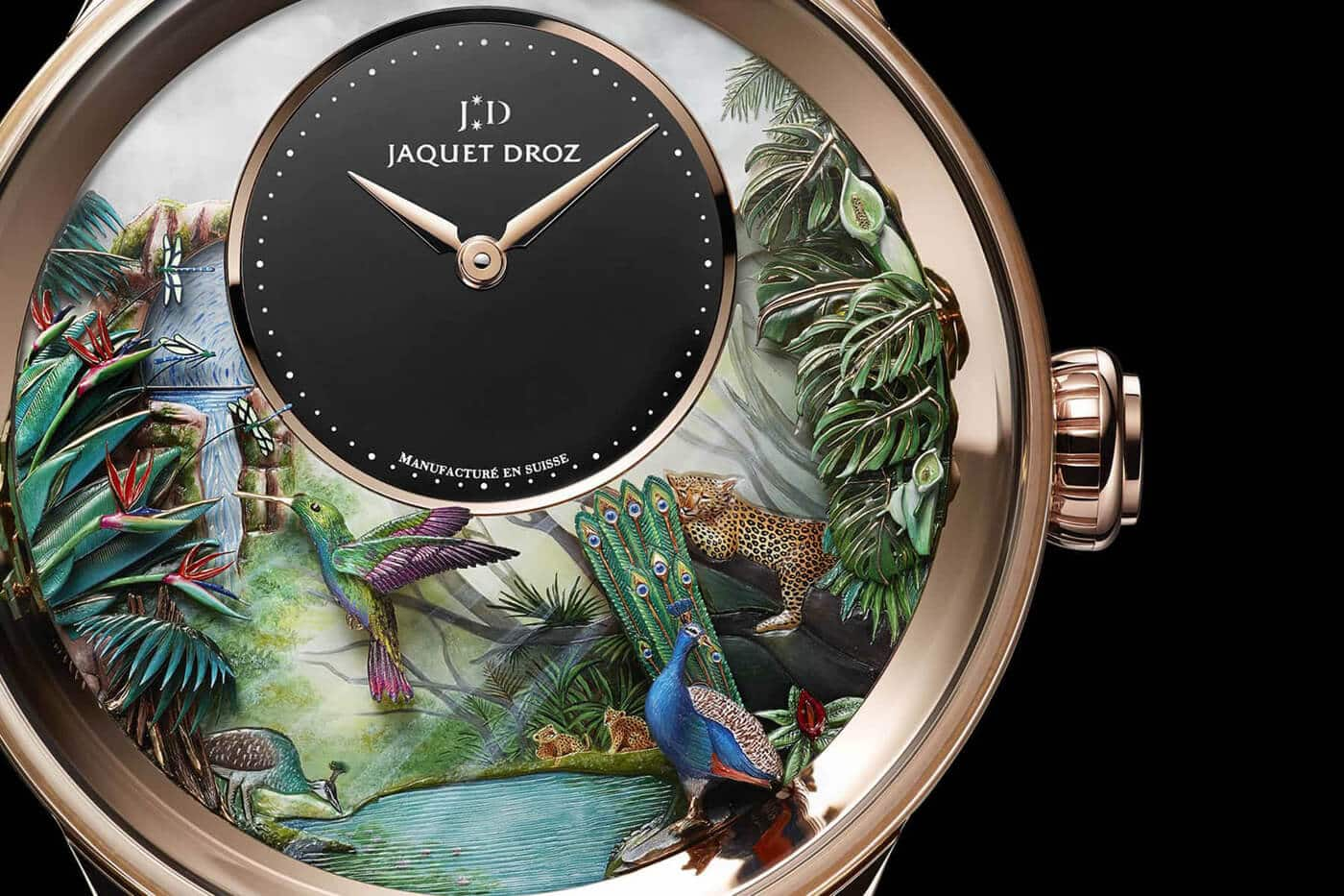 limited edition luxury jaquet droz fy 2