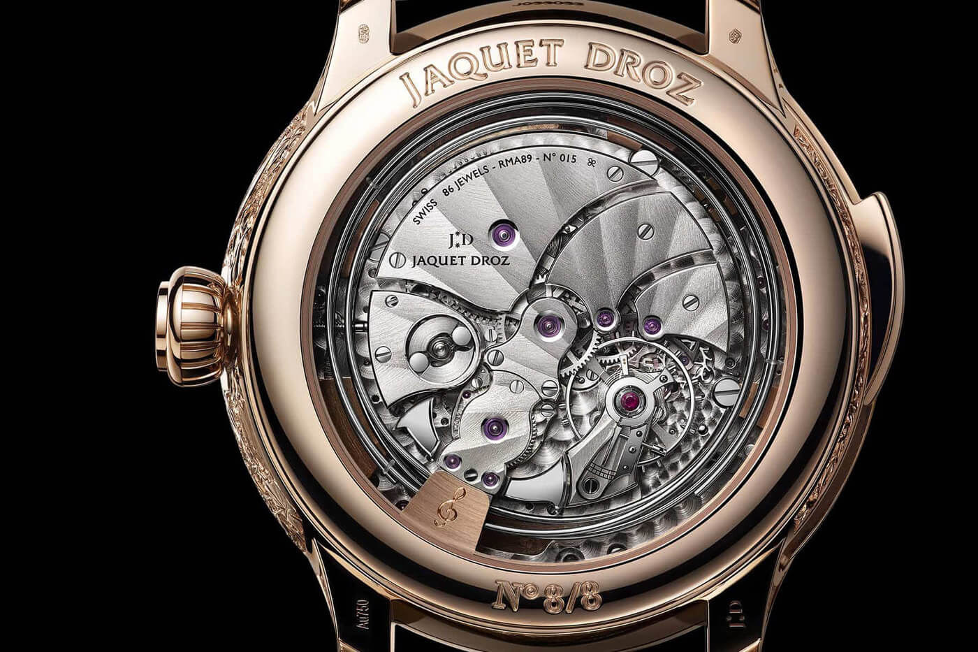 limited edition luxury jaquet droz fy 5