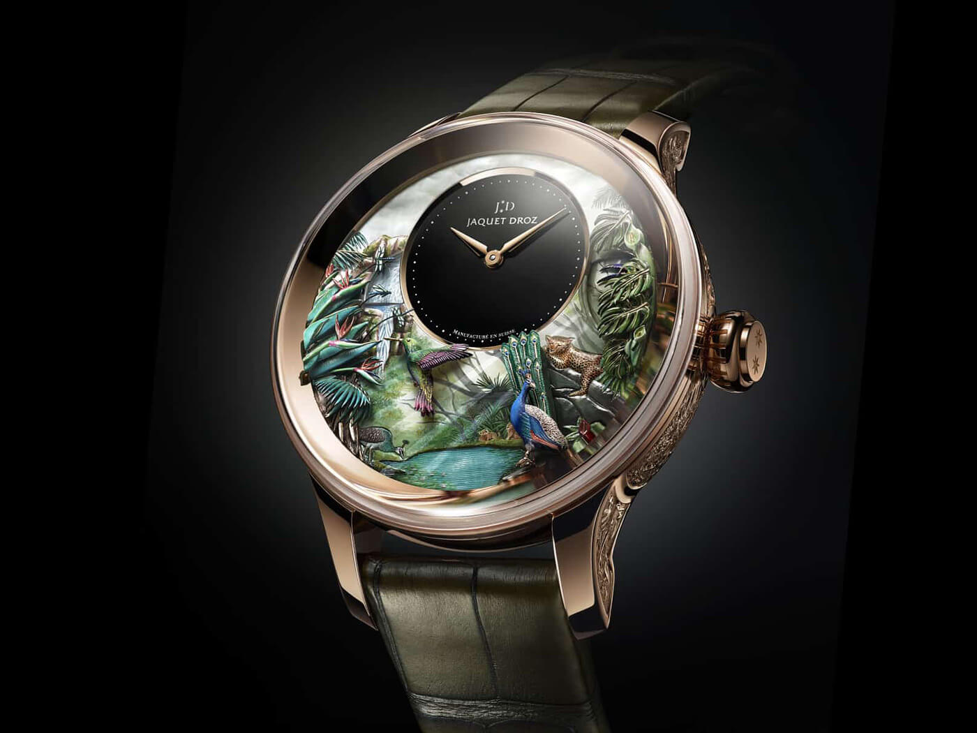 limited edition luxury jaquet droz fy 6
