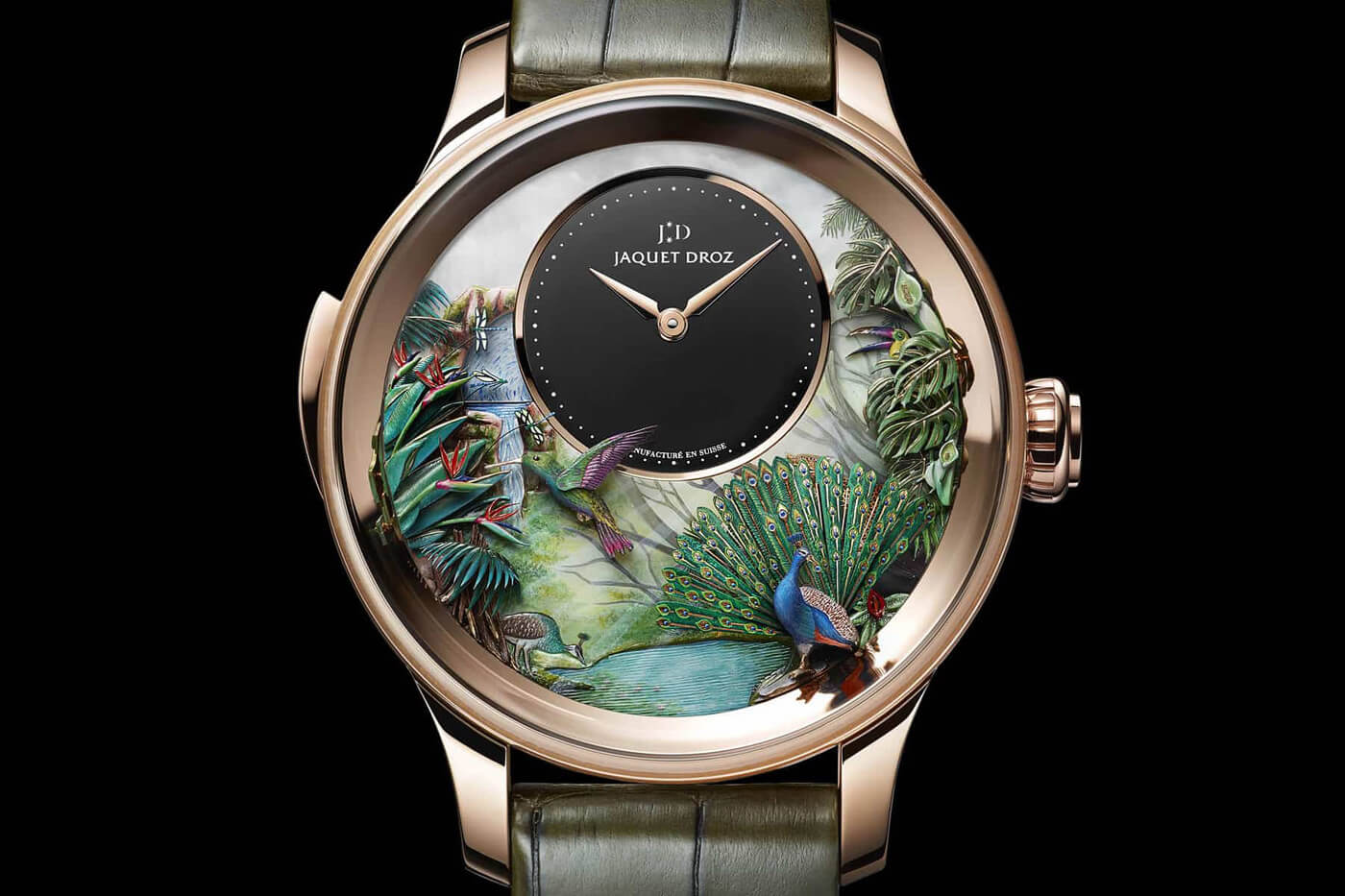 limited edition luxury jaquet droz fy 7