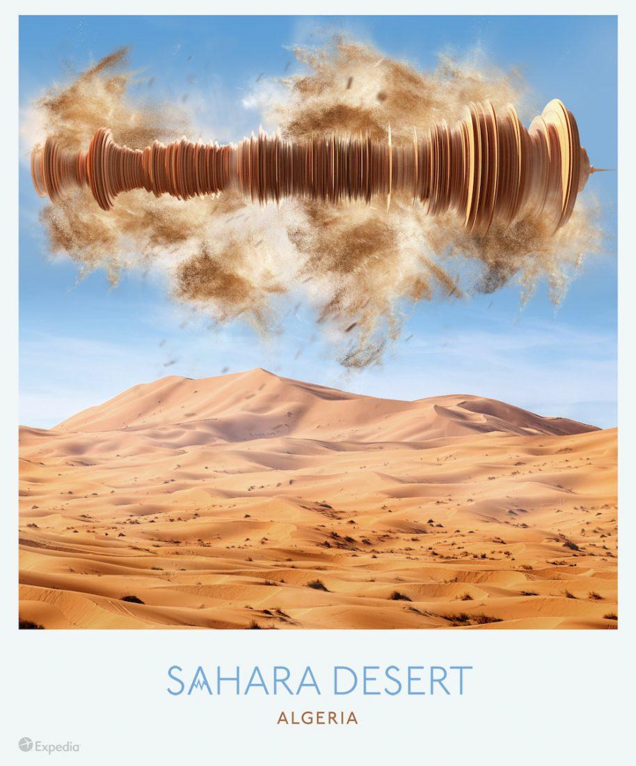 1 Sahara Desert Algeria