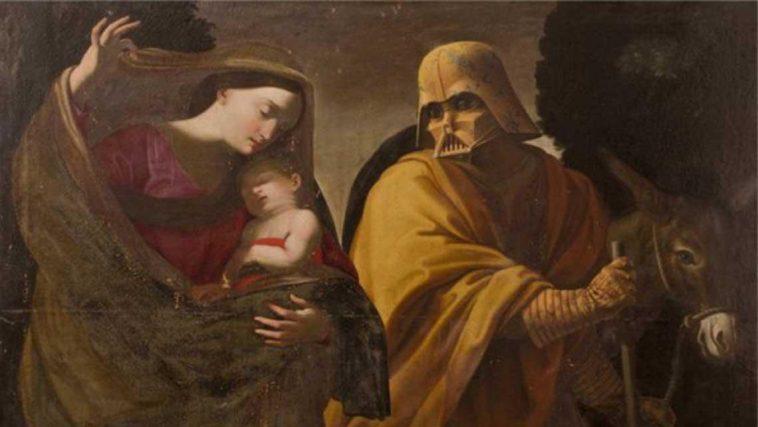 Riccardo Mayr star wars characters renaissance paintings fy 1