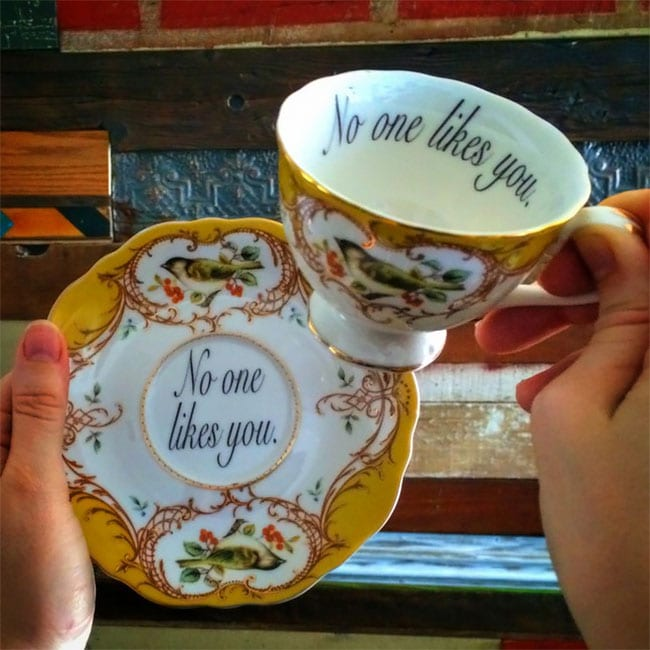 offensive teacups insult guests fy 1