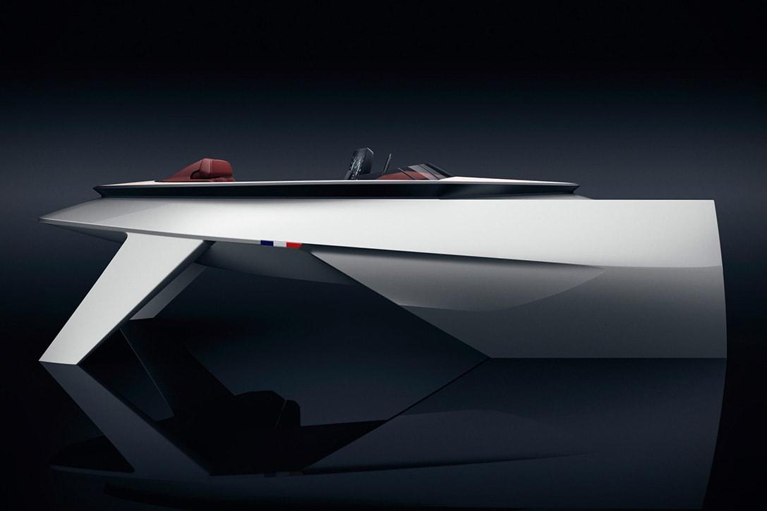 peugeot luxury speed boat concept fy 1
