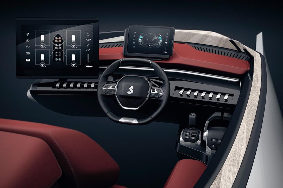 peugeot luxury speed boat concept fy 3