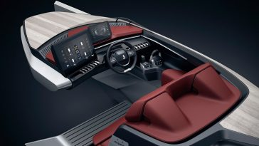 peugeot luxury speed boat concept fy 4