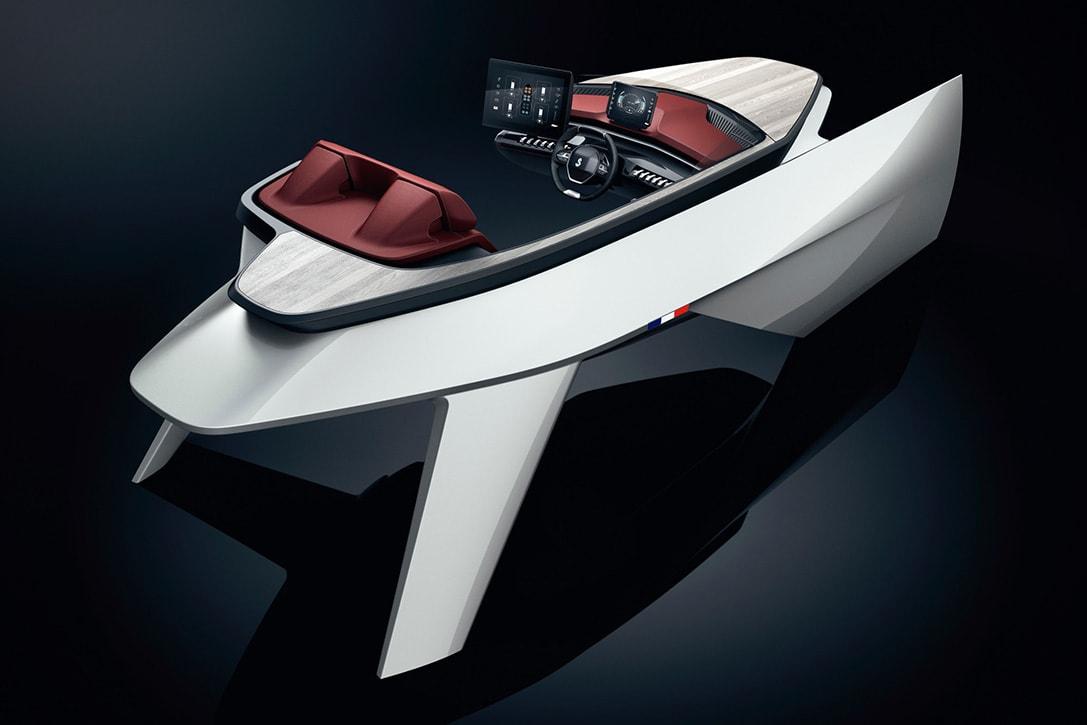 peugeot luxury speed boat concept fy 5