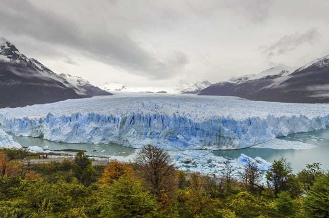 Walked on an Iceberg in Argentina