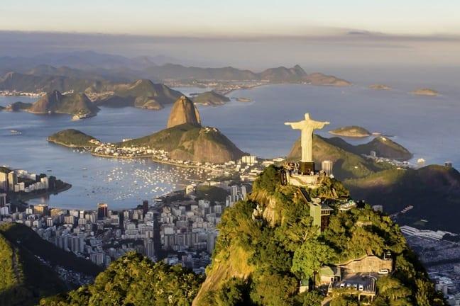 Helicopter ride over Rio de Janeiro