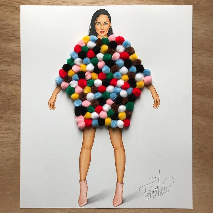 3d fashion dresses edgar artis 1