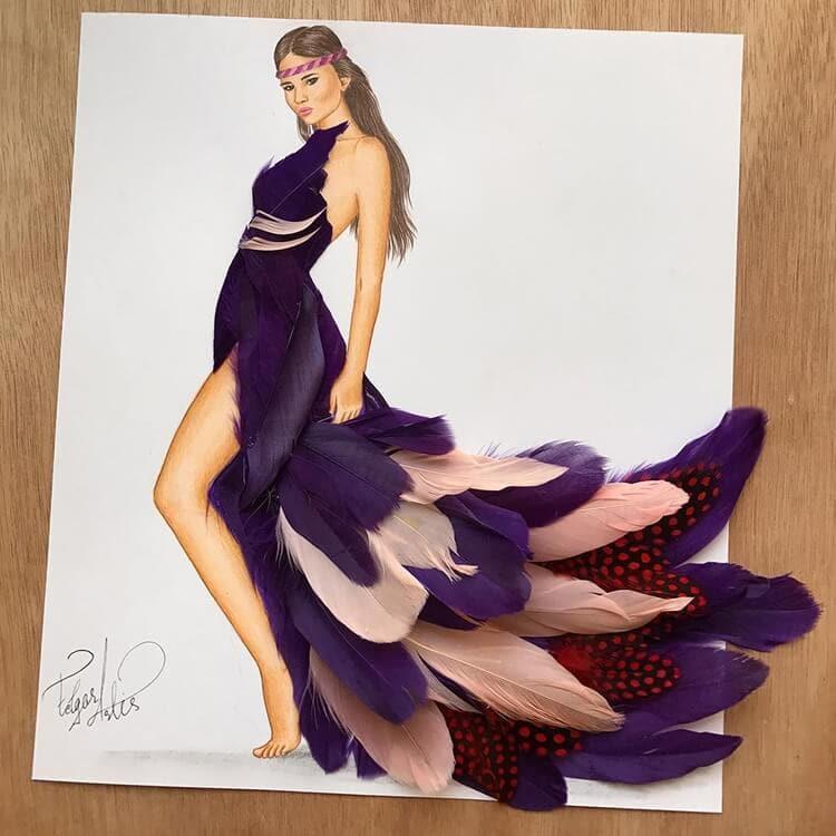 3d fashion dresses edgar artis 10