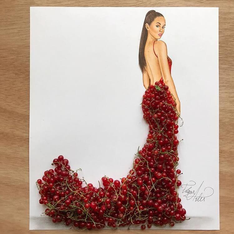 3d fashion dresses edgar artis 12