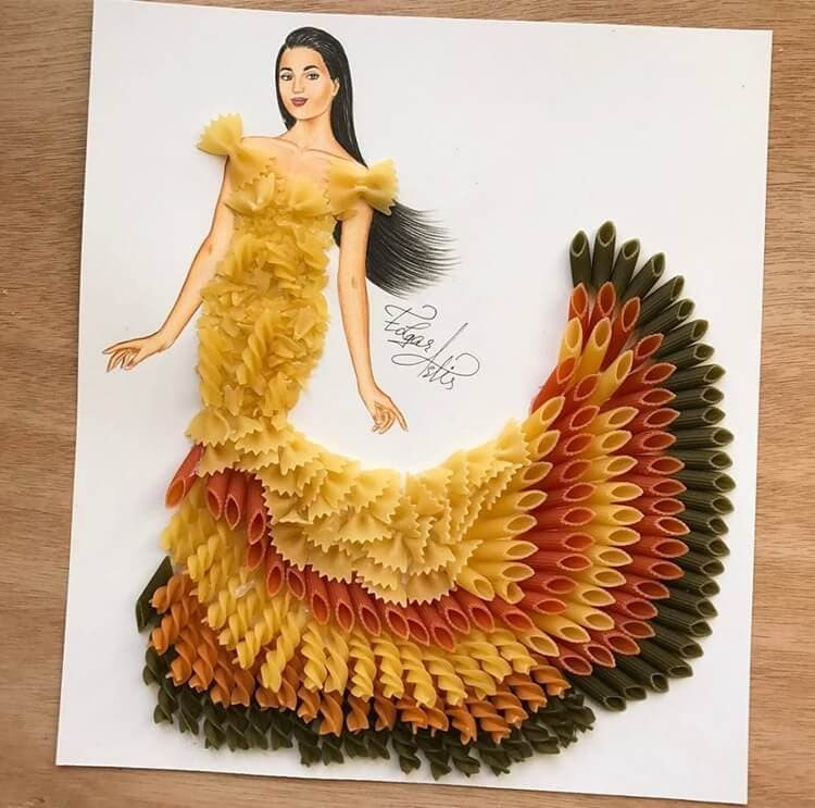 3d fashion dresses edgar artis 17