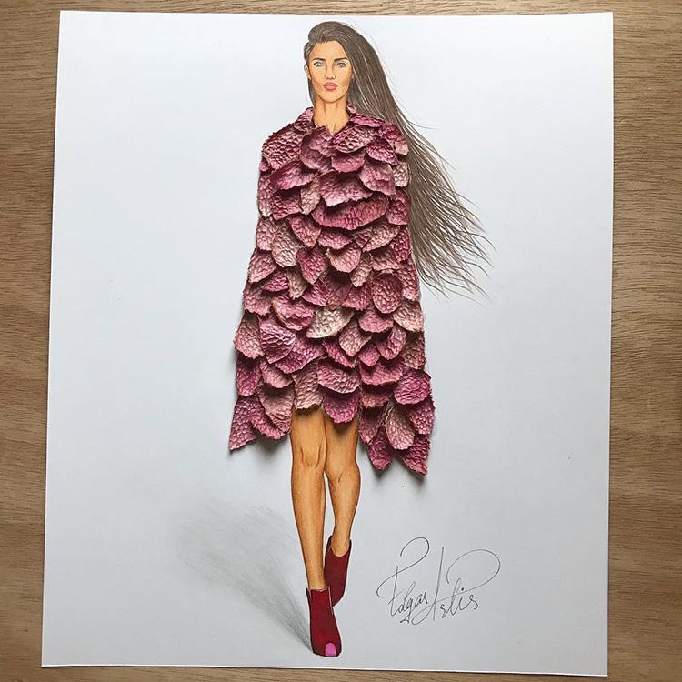 3d fashion dresses edgar artis 23