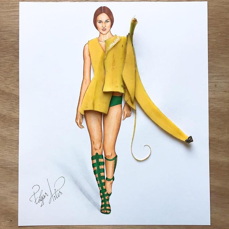 3d fashion dresses edgar artis 3