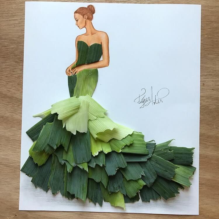 3d fashion dresses edgar artis 6