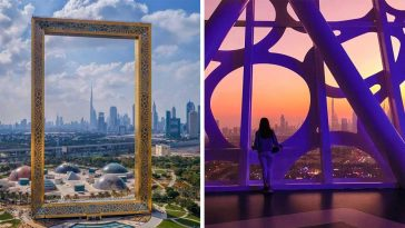 Dubai Just Built The Worlds Largest Picture Frame From A Stolen Design