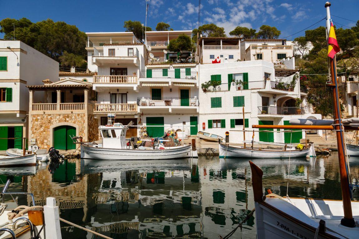 Mallorca Cala Figuera Santanyi Hafen 2016