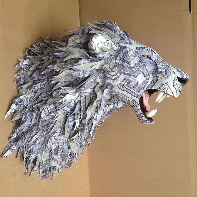 upholstery animal head wall mounts kelly jelinek fy 1