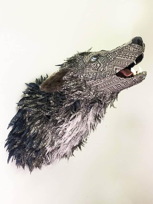 upholstery animal head wall mounts kelly jelinek fy 11