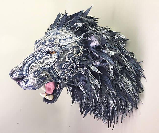 upholstery animal head wall mounts kelly jelinek fy 15
