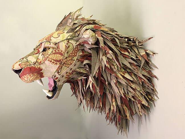 upholstery animal head wall mounts kelly jelinek fy 16