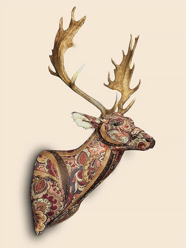 upholstery animal head wall mounts kelly jelinek fy 3