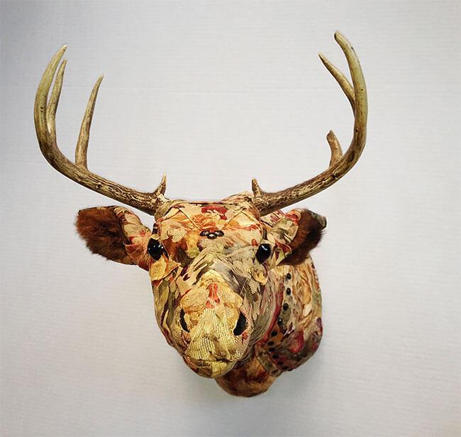upholstery animal head wall mounts kelly jelinek fy 4