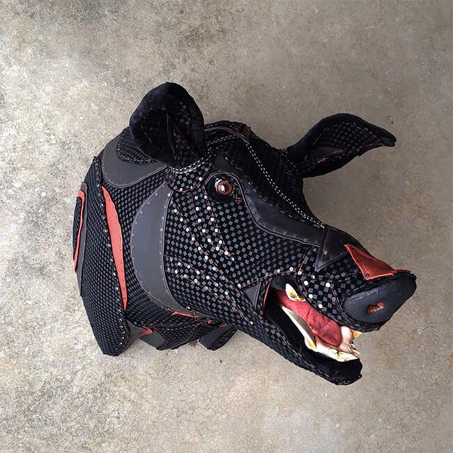 upholstery animal head wall mounts kelly jelinek fy 5
