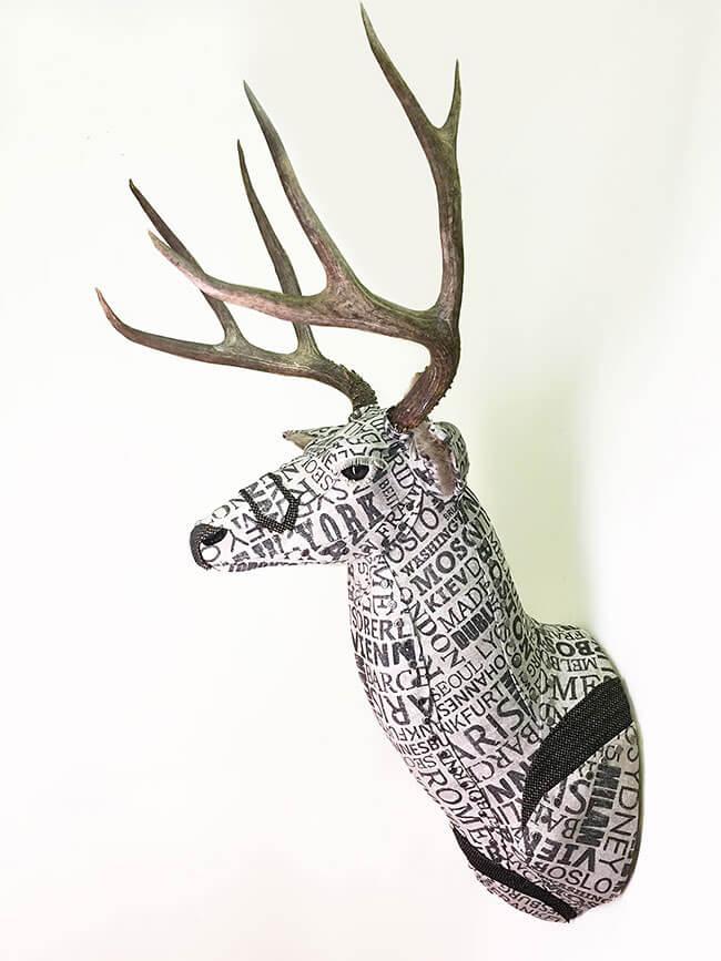 upholstery animal head wall mounts kelly jelinek fy 9