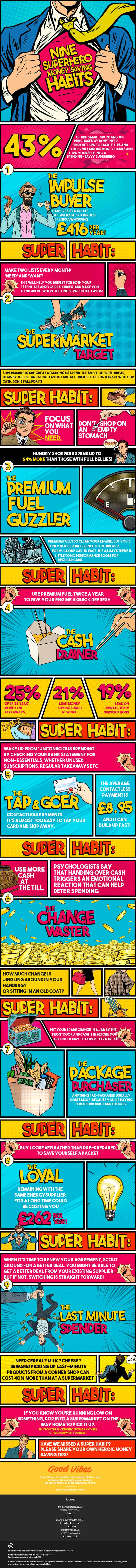 SUNNY SUPERHERO HABITS INFOGRAPHIC 1