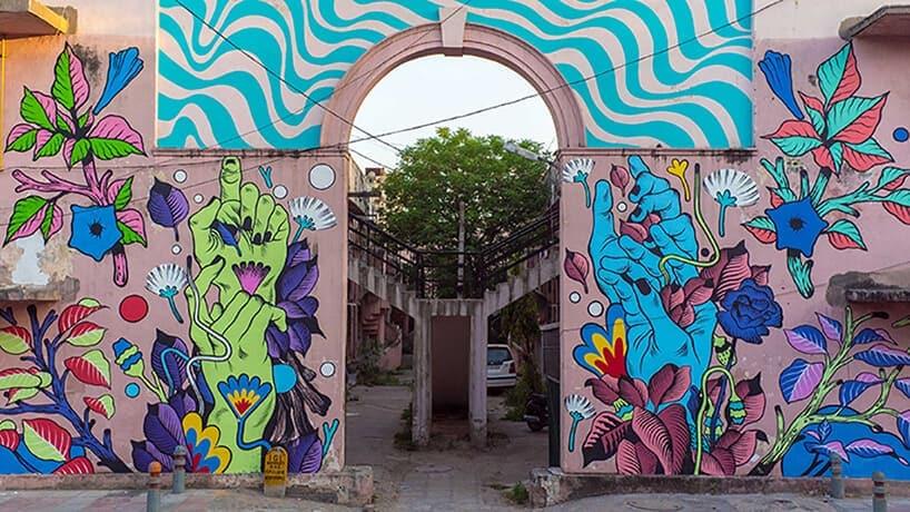 bicicleta sem freio justkids dheli murals 13