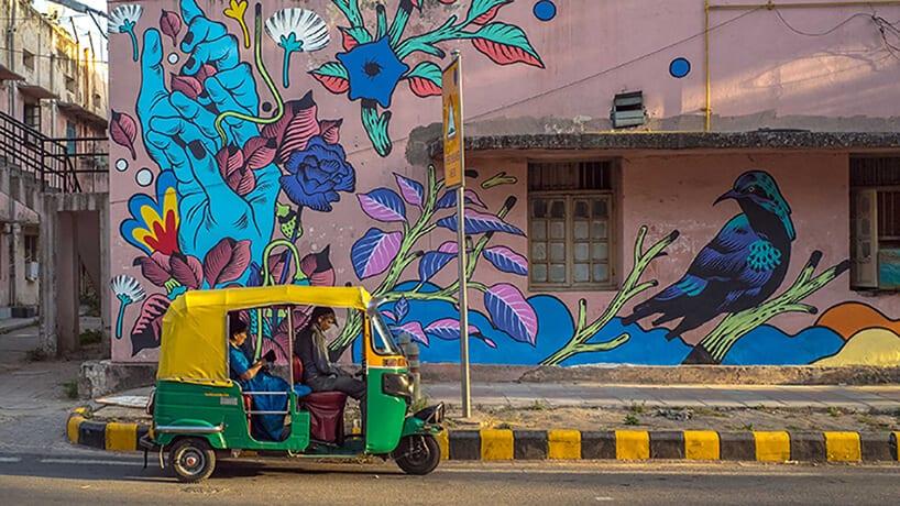 bicicleta sem freio justkids dheli murals 6