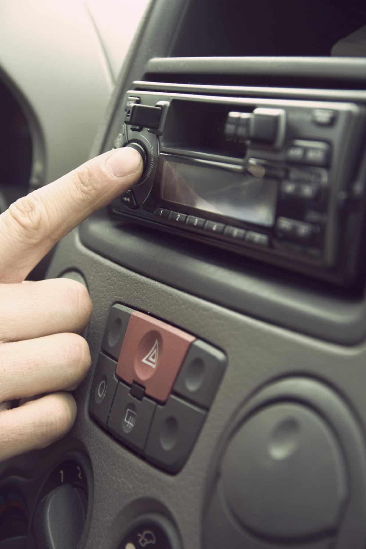 car music audio controls