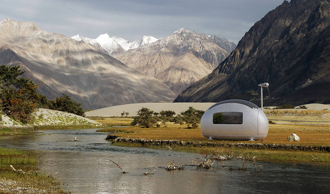 ecocapsule at river 0