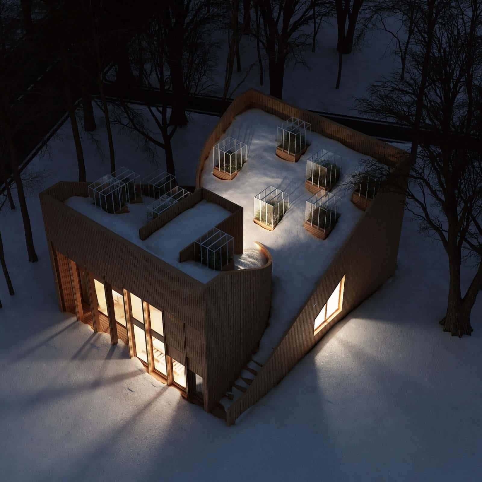 penda self sufficient yin yang house 6