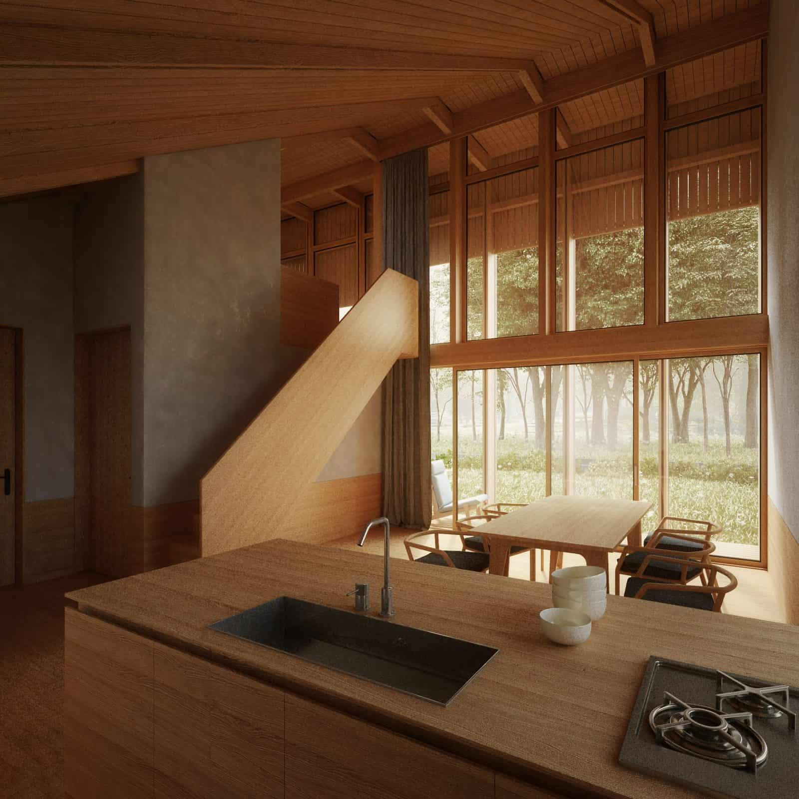 penda self sufficient yin yang house 9