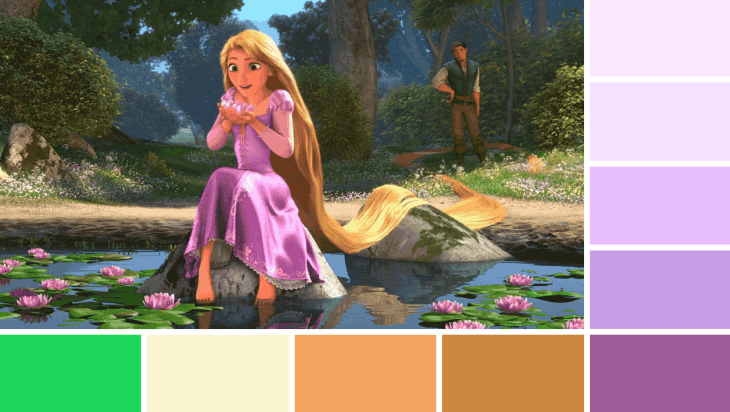 Rapunzel Colours