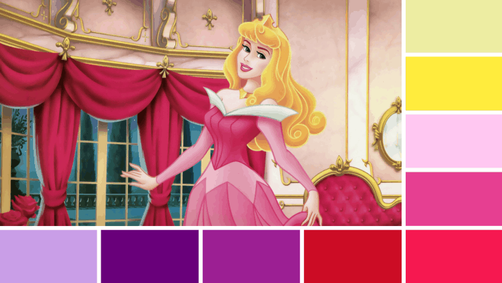 Sleeping Beauty Colours