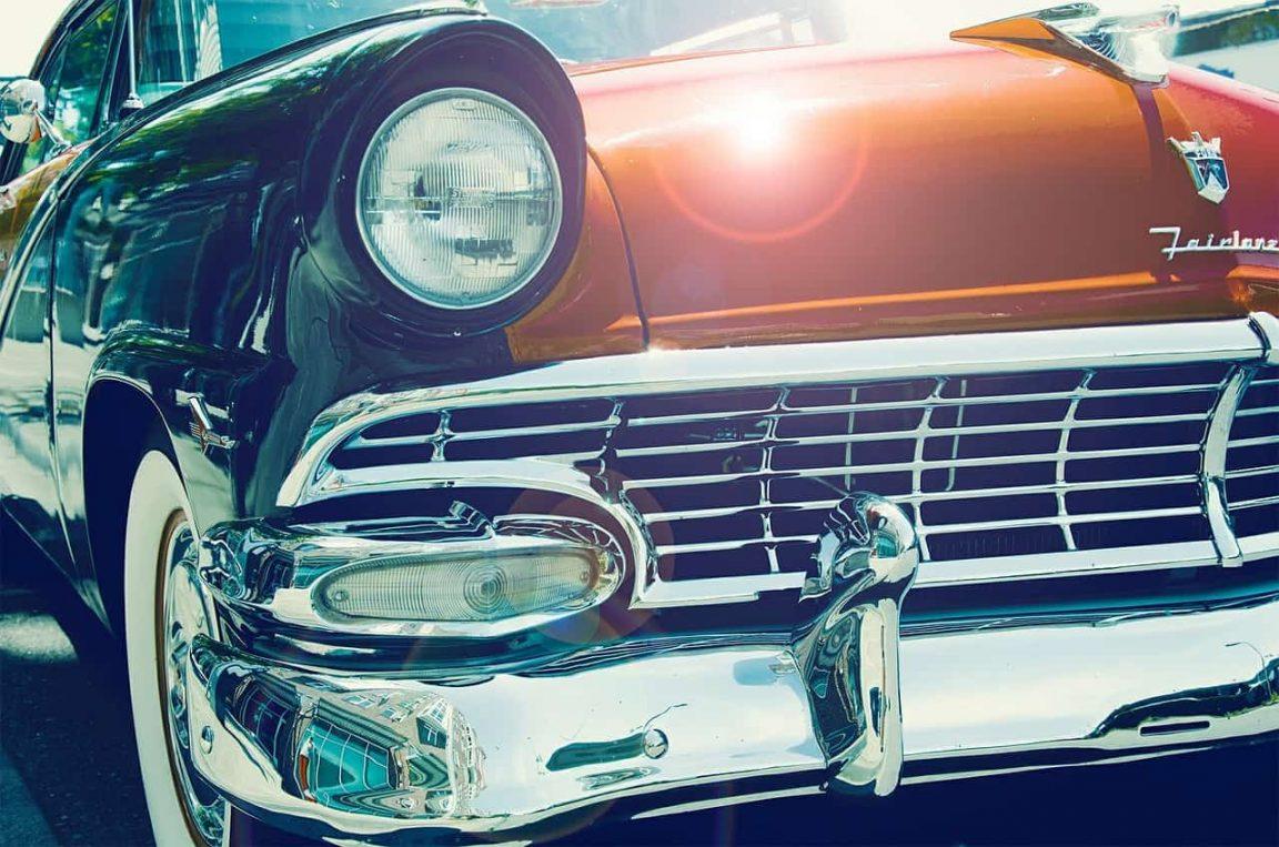 car antique 50s 60s old retro