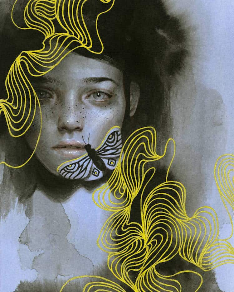 fairytale colored pencil drawings tran nguyen 10