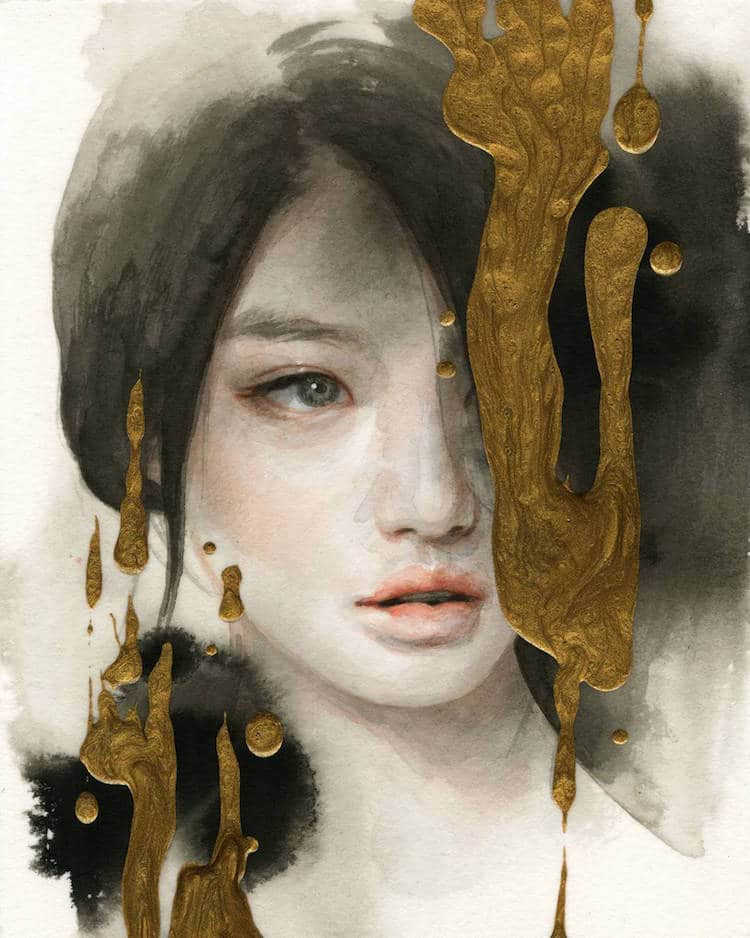 fairytale colored pencil drawings tran nguyen 12
