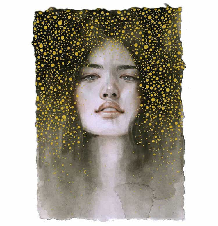 fairytale colored pencil drawings tran nguyen 13