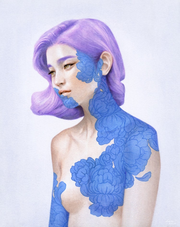 fairytale colored pencil drawings tran nguyen 16