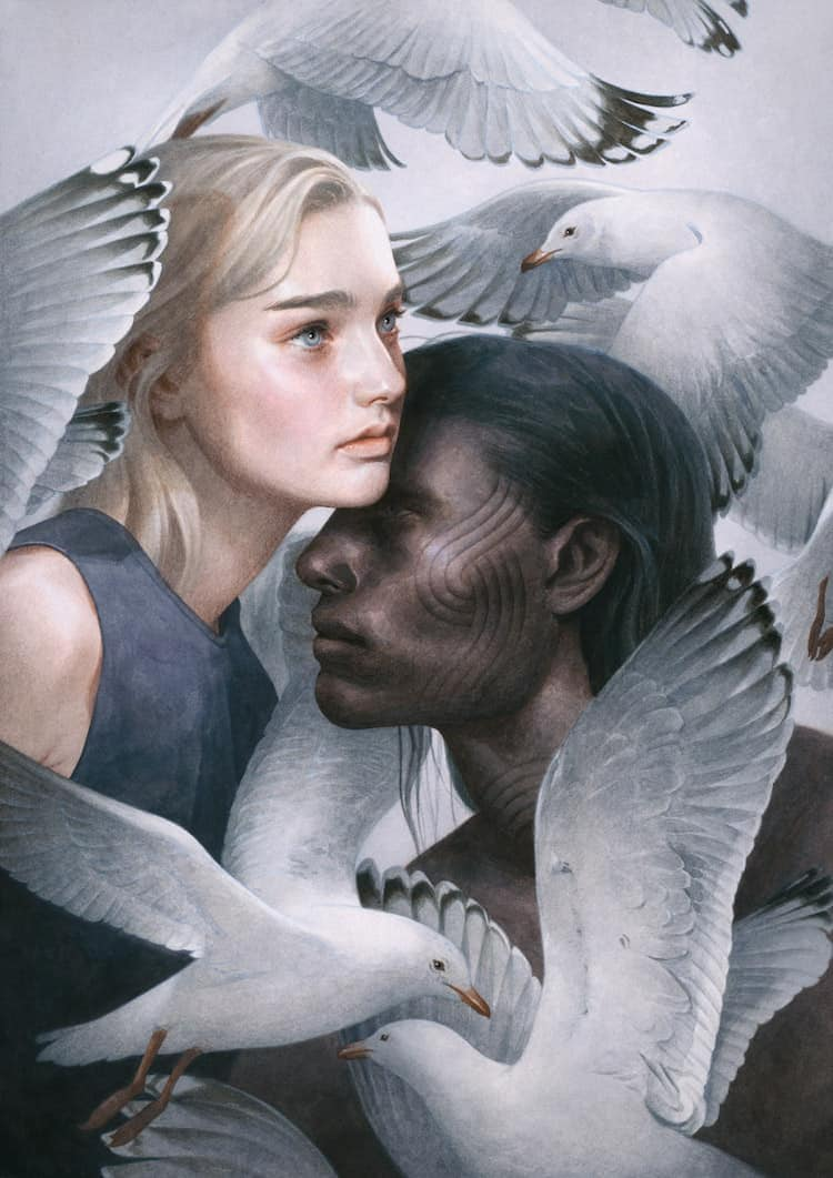 fairytale colored pencil drawings tran nguyen 19