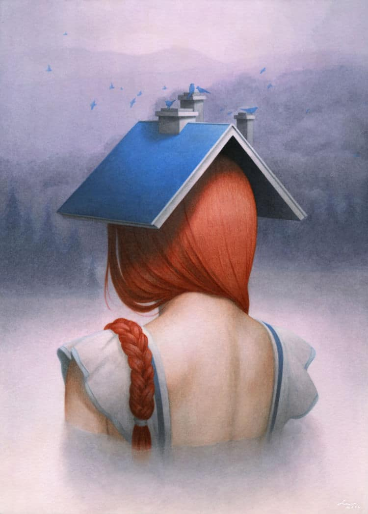 fairytale colored pencil drawings tran nguyen 2