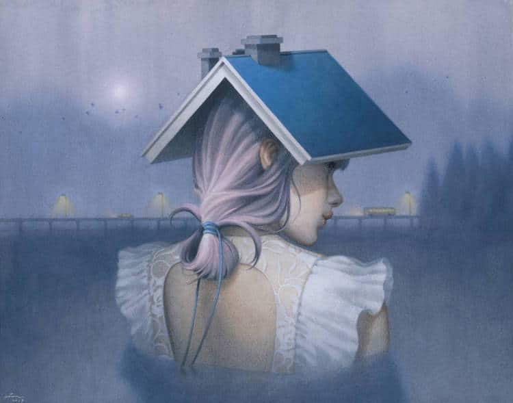 fairytale colored pencil drawings tran nguyen 21